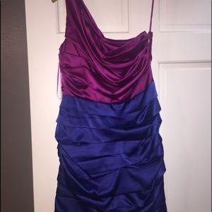 Express One Shoulder Dress: Size 6
